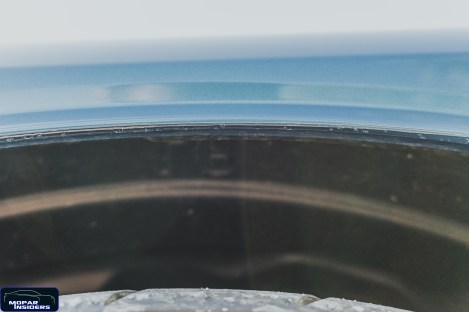 Clear coat defect on Moparinsiders 2019 Dodge Challenger 1320 (Moparinsiders)