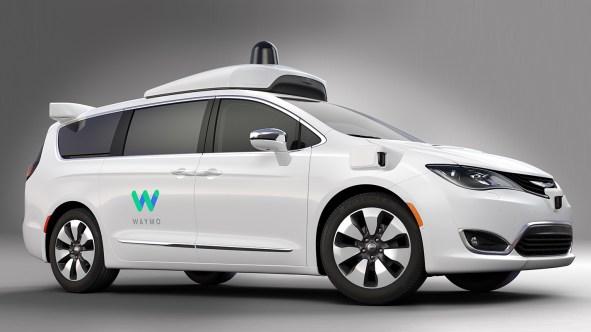 Waymo-Equipped Autonomous Chrysler Pacifica Hybrid. (Chrysler).
