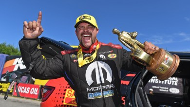 Photo of Hagan Wins Third Straight NHRA New England Nationals: