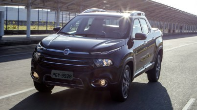 2020 Fiat Toro Volcano 2.0 Diesel AT9 4x4. (FIAT Brazil).