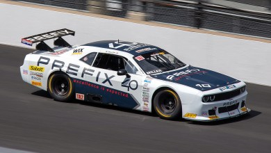 Photo of Miller Takes His PREFIX Dodge Challenger To Victory At Indy:
