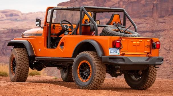 Jeep® CJ66 Concept. (Jeep).