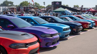 """2019 """"Roadkill Nights Powered by Dodge"""" at M1 Concourse. (MoparInsiders)."""