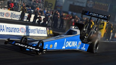 Photo of Pritchett Goes To Semifinals At The AAA Insurance NHRA Midwest Nationals:
