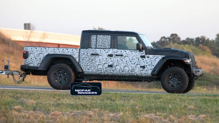 caught is jeep® working on a new gladiator hercules model