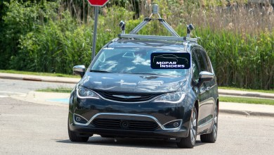 Photo of CAUGHT: Civilian Self-Driving Chrysler Pacifica Hybrid Prototype: