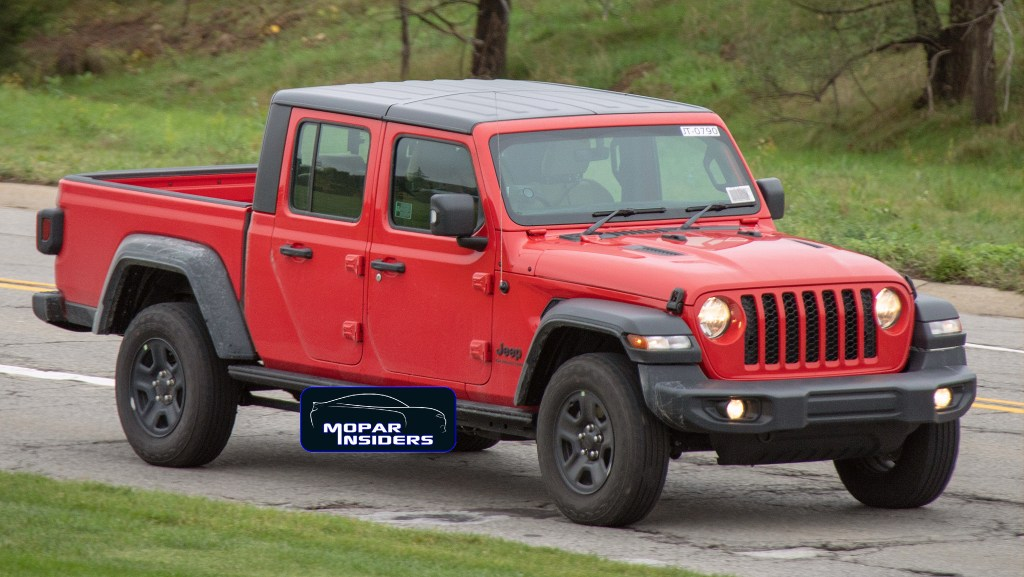 Spotted 2020 Jeep Gladiator With Right Hand Drive Mopar