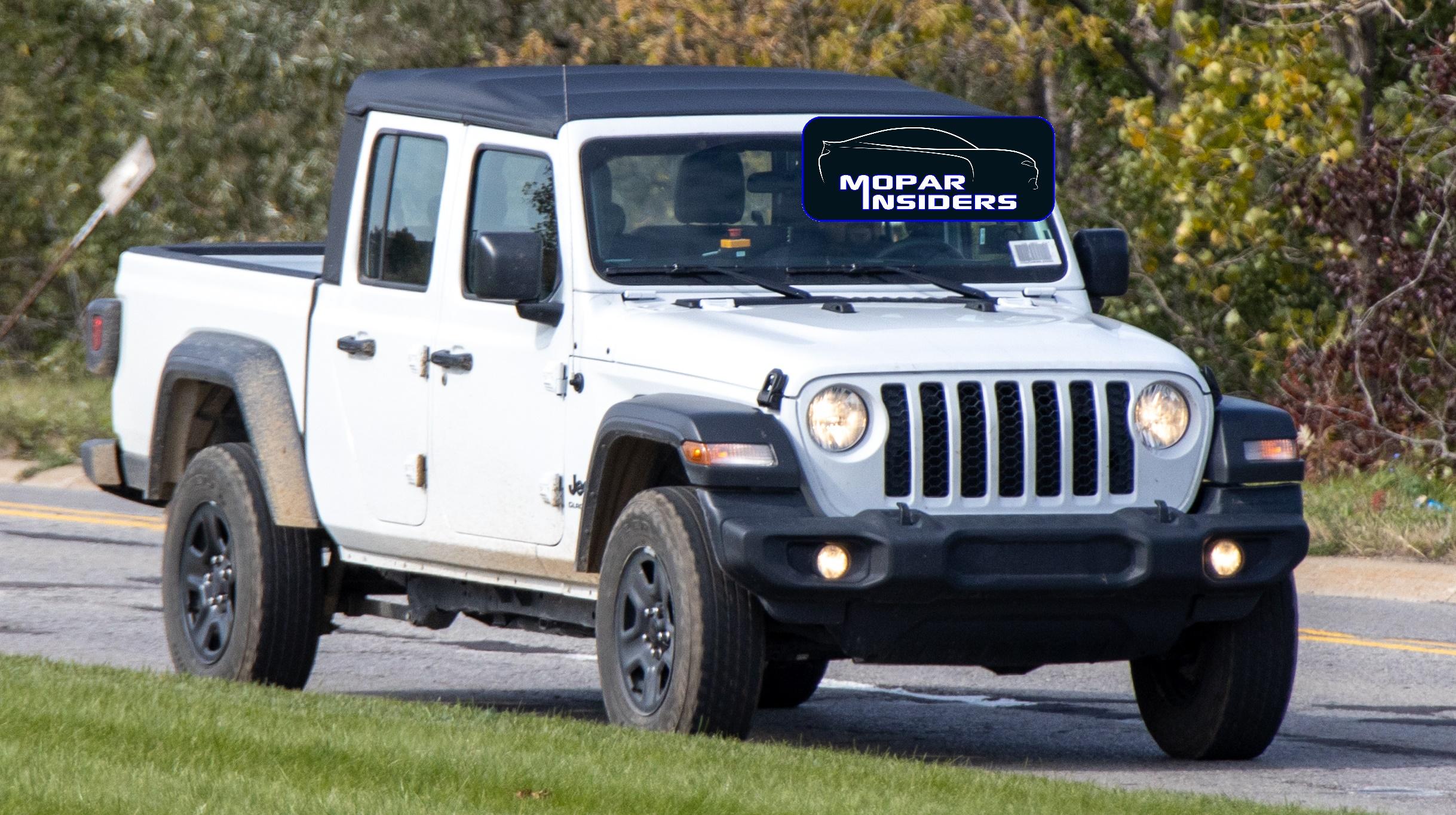 Spotted 2020 Jeep Gladiator Sport Ecodiesel Mopar Insiders