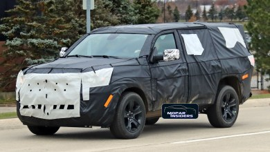 Photo of Jeep® Teases All-New Full-Size Wagoneer For First Time: