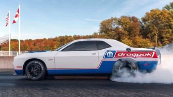 2020 Mopar Dodge Challenger Drag Pak. (Mopar).