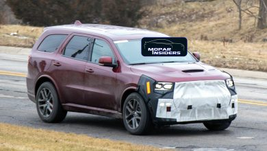 Photo of CAUGHT: We Get A Peek Under The 2021 Dodge Durango SRT's Camouflage: