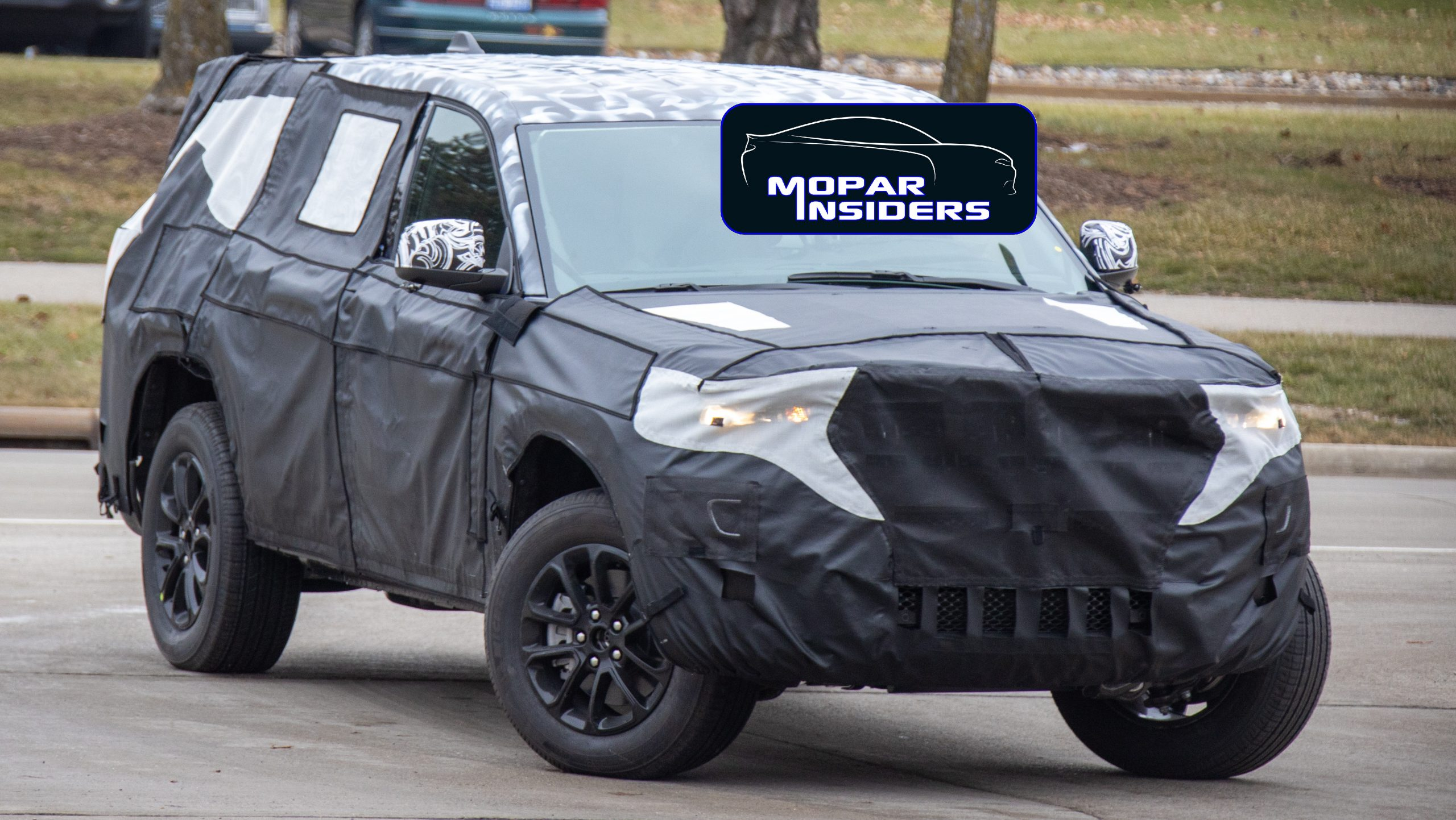 caught  2021 jeep u00ae grand cherokee limited  wl  out testing