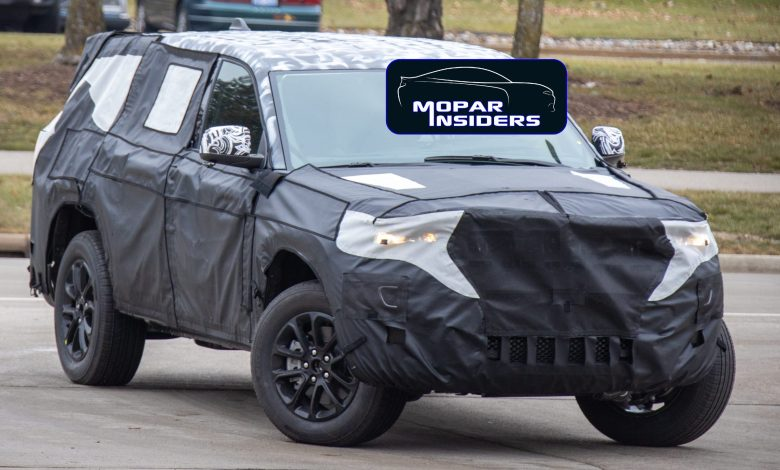 Photo of CAUGHT: 2021 Jeep® Grand Cherokee Limited (WL) Out Testing: