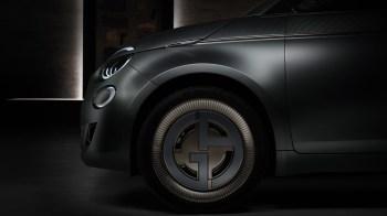 Fiat 500 Giorgio Armani Special Edition. (FIAT).