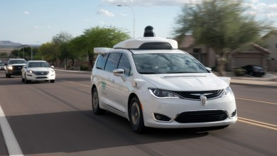 Photo of Waymo's Self-Driving Chrysler Pacifica Returns To The Road In Arizona: