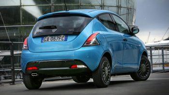 2020 Lancia Ypsilon Hybrid EcoChic Marine Edition. (Lancia).