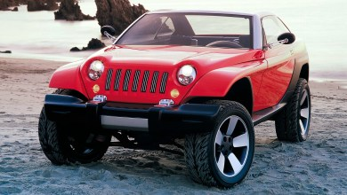 Photo of Inside Design: 1998 Jeep® Jeepster Concept: