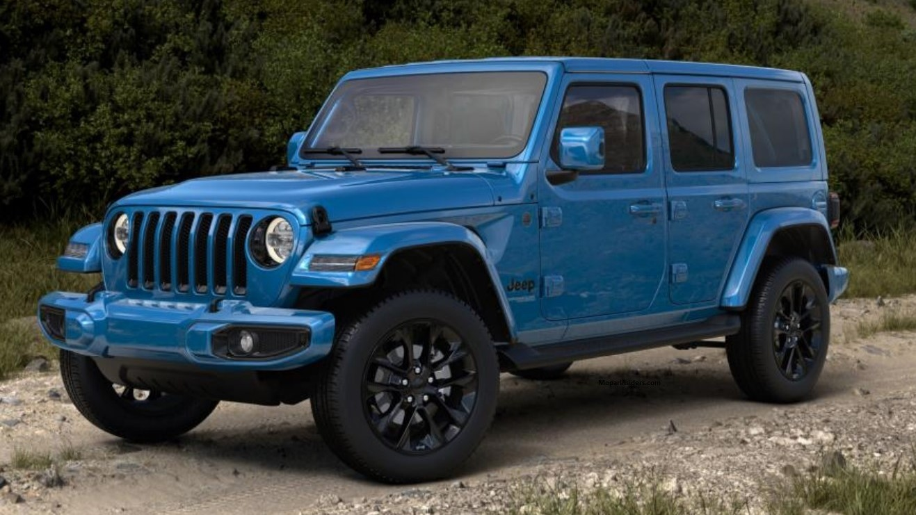 Neues Konzept 2021 Jeep Wrangler Exterior Colors