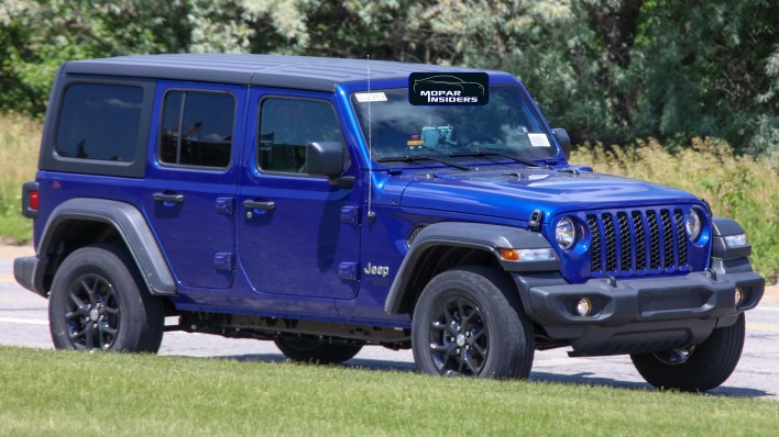 CAUGHT: The Entire 2021 Jeep® Wrangler 4xe Lineup On The Road: - Mopar  Insiders