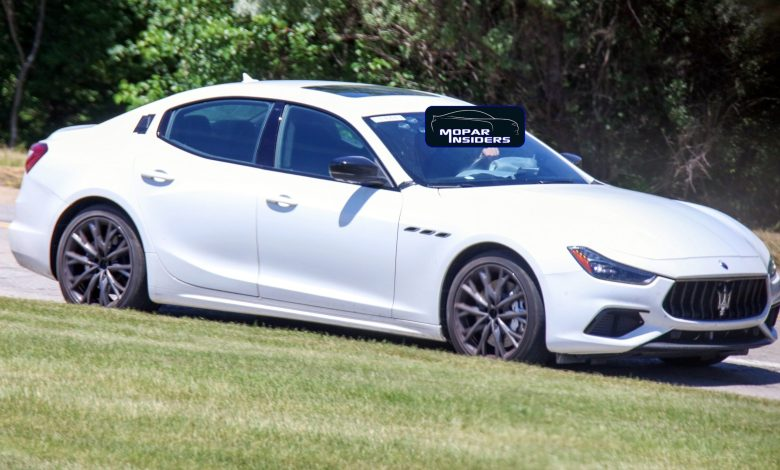 Photo of CAUGHT: 2021 Maserati Ghibli Hybrid Testing In Detroit:
