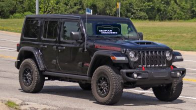 Photo of CAUGHT: Production Jeep® Wrangler Unlimited Rubicon 392: