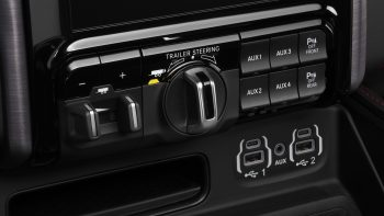 2021 Ram 1500 TRX Trailer Steering Control. (Ram).