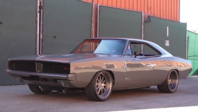 Photo of One Wicked Destroyer Grey Painted Resto-Mod 1969 Dodge Charger!