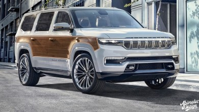 Photo of Wood-Grain Grand Wagoneer Concept Rendering, Has Us Wanting More:
