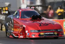 Photo of Hagan Qualifies Charger Redeye Funny Car On Top At Gatornationals: