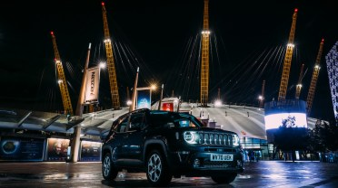 """The """"Renegade Motel"""" at The O2 in London. (Jeep)."""
