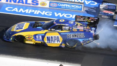 Photo of Capps Qualifies In The No. 1 Spot For Dodge NHRA Finals In Vegas: