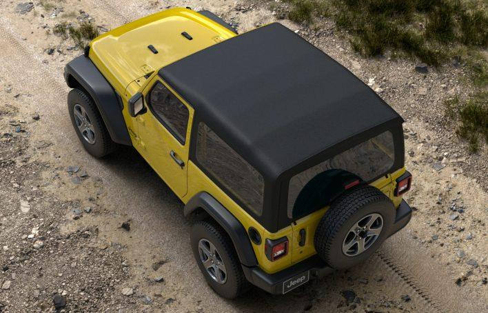 2021 Jeep® Wrangler Sport S. (Jeep).