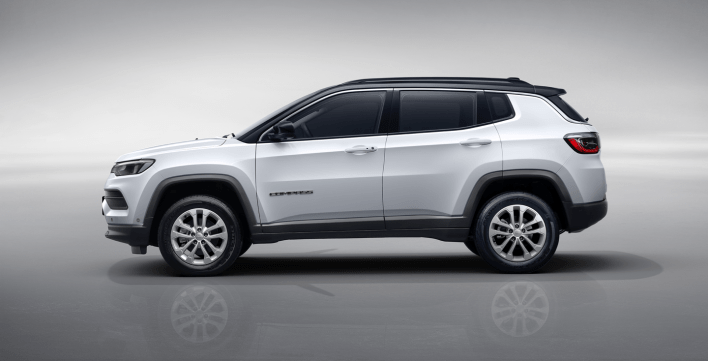 China-Spec 2022 Jeep® Compass Limited. (Jeep).