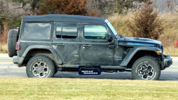 Production-Spec 2021 Jeep® Wrangler Unlimited 4xe. (MoparInsiders).