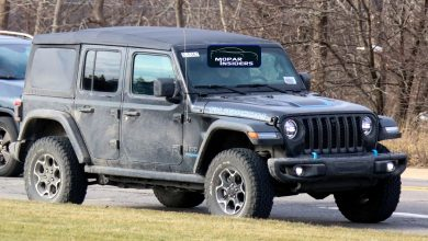 Production-Spec 2021 Jeep® Wrangler Unlimited 4xe. (MoparInsiders).