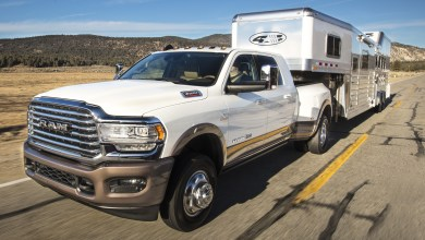 2021 Ram 3500 Limited Longhorn Mega Cab 4x4 Dually with Fifth-Wheel / Gooseneck Towing Prep Group. (Ram).