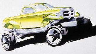 Dodge Power Wagon Concept Vehicle Preliminary Image. (Ram).