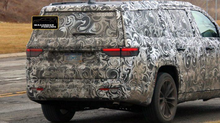 2022 Jeep® Wagoneer Limited (WS) Tester. (WagoneerForums).