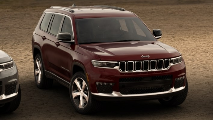 2021 Jeep® Grand Cherokee L Limited. (Jeep).