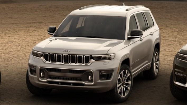 2021 Jeep® Grand Cherokee L Overland. (Jeep).