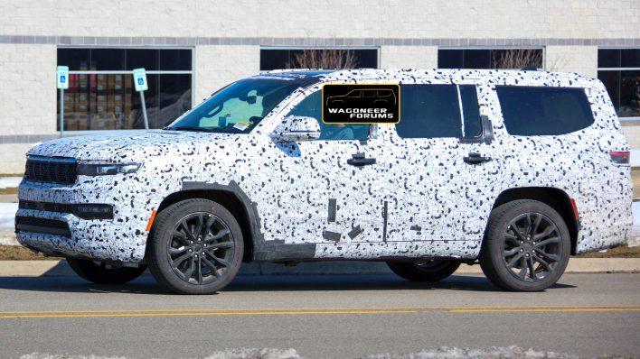 2022 Jeep® Grand Wagoneer (WS) Summit Reserve Tester. (WagoneerForums).