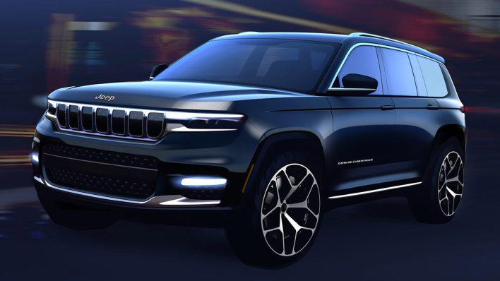 2021 Jeep® Grand Cherokee L Sketch. (Jeep).
