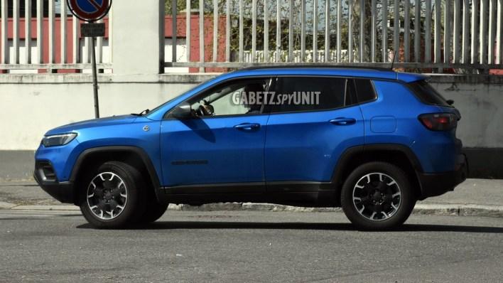 2021 Jeep® Compass Trailhawk 4xe. (GabetzSPYUnit).