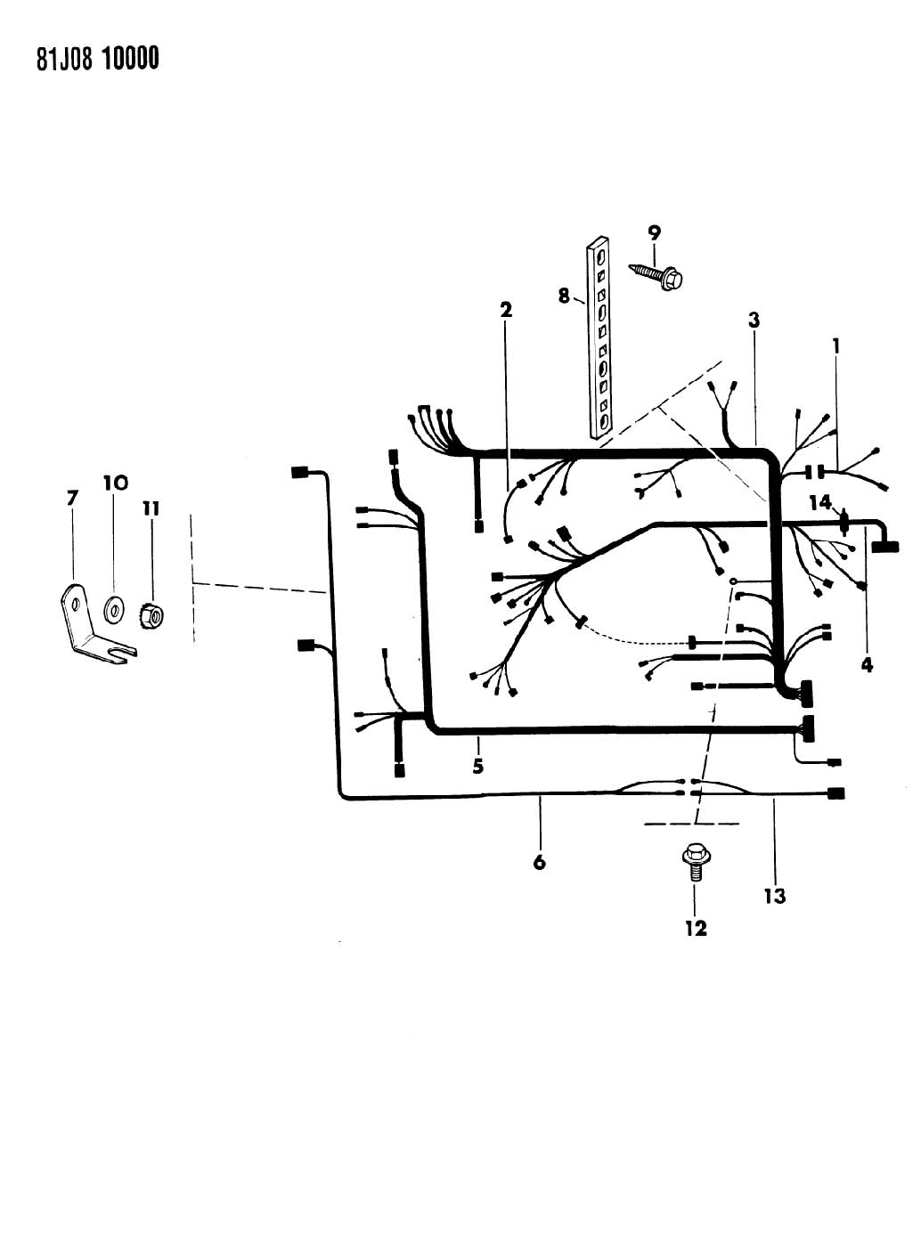 Jeep J20 Wiring Harness. Jeep. Auto Wiring Diagram