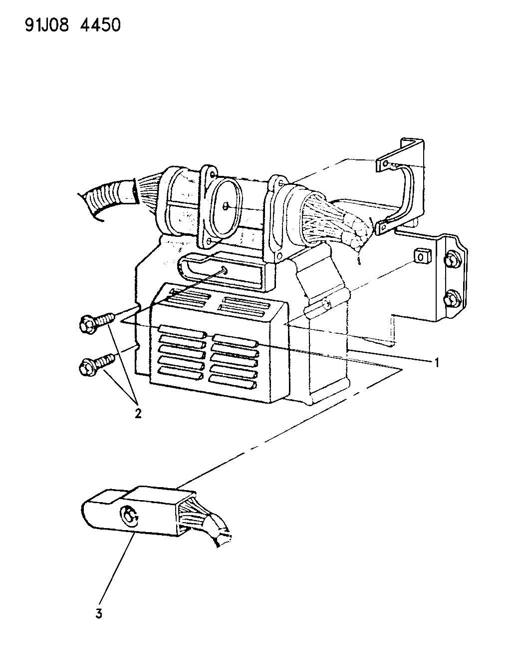 Single Board Engine Controllers Powertrain Control Module Yj