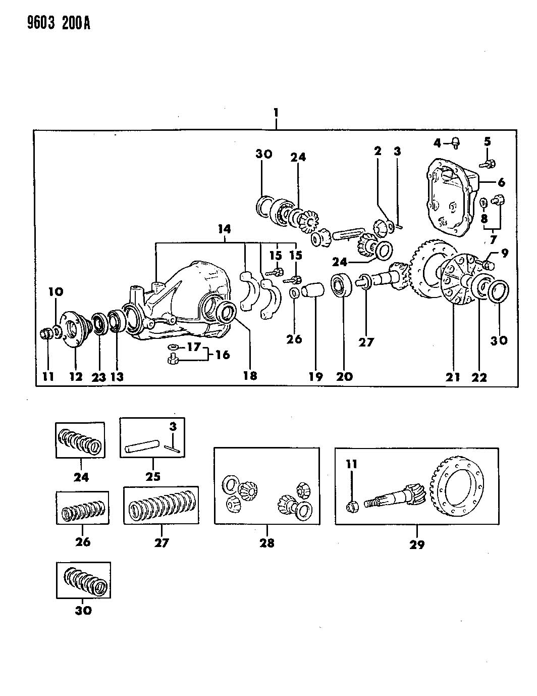 Service manual [How To Remove Differential From A 1991