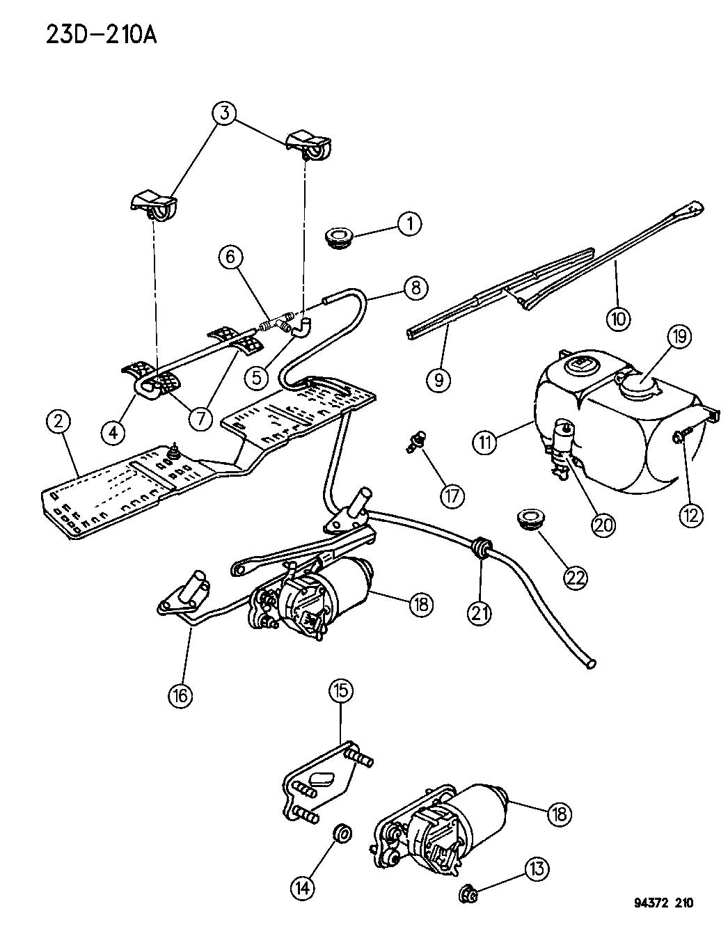 hight resolution of windshield wiper and washer n body