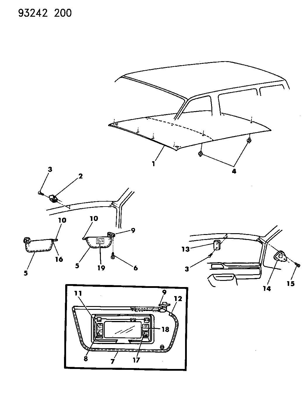 2005 Dodge Caravan Parts Diagram, 2005, Get Free Image