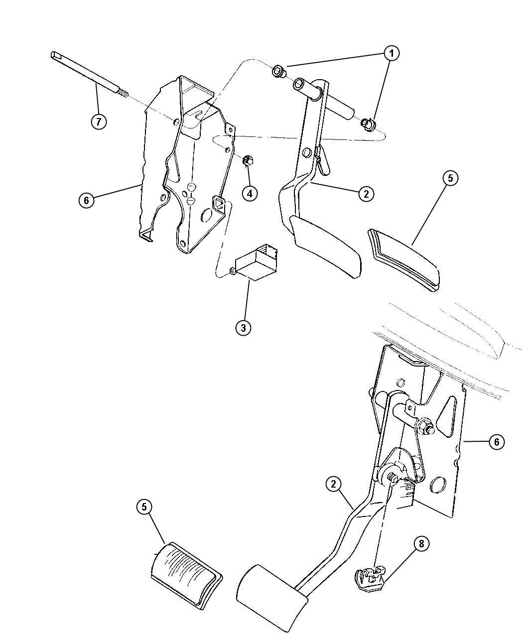 Service manual [1997 Plymouth Breeze Repair Rear Brakes