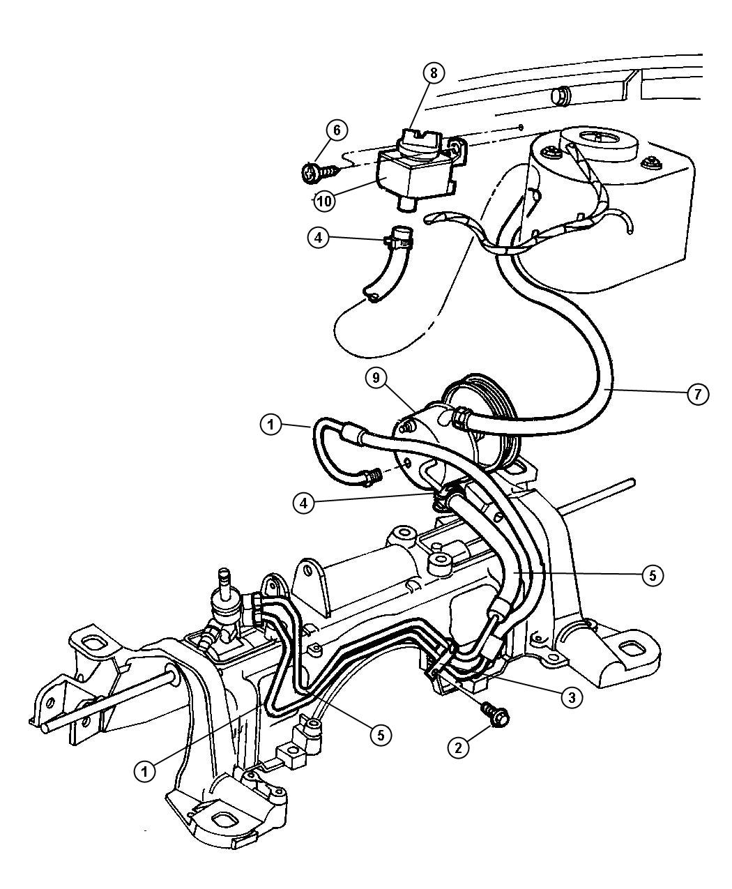 Service manual [1999 Plymouth Grand Voyager Power Steering